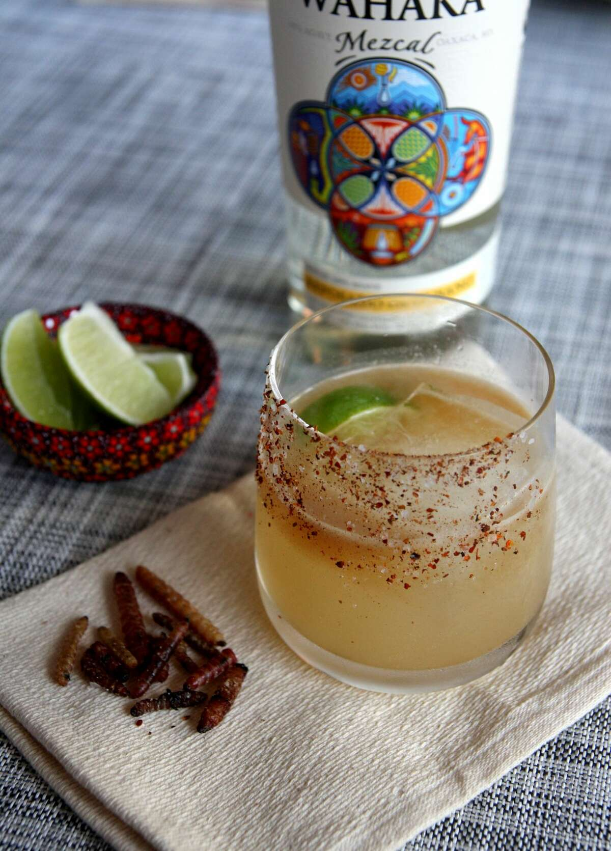 Hugo's 1600 Westheimer, 713-524-7744 - Mezcal margarita ($28): 250 ml bottle of Silencio mezcal, lime juice and house-made orange-agave nectar cordial.- Hugorita (house margarita; $28): 375 ml bottle of Blanco Tequila, lime juice and house-made orange-agave nectar cordial. - Sangira ($22): a bottle of red wine, aged Mexican brandy and a lime, orange, mango and pineapple juice mix .- Spiced Don Julio margarita kit ($60): a bottle of Don Julio Blanco, orange liqueur, lime and sliced jalapenos.