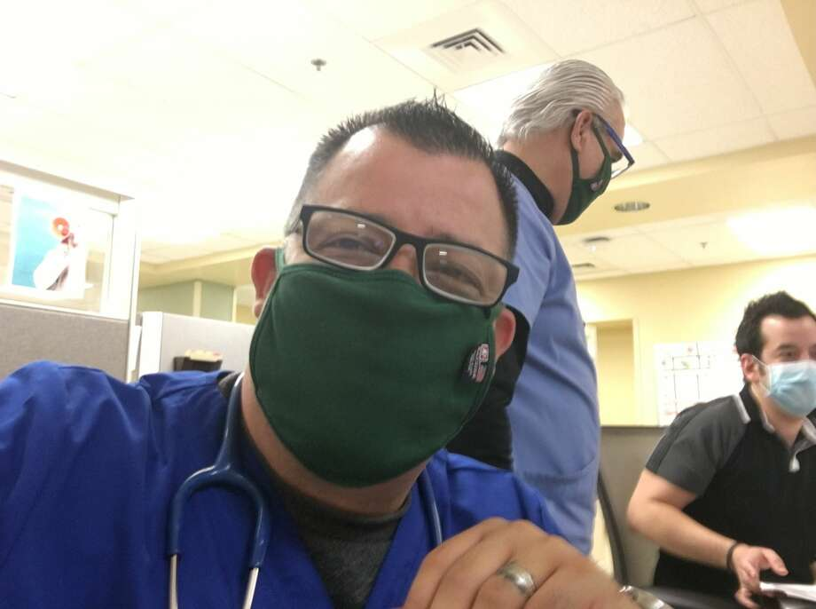 A 1992 nursing school graduate, husband and small business owner, Laredoan Luis Peter Decker is leaving Laredo to join other medical health professionals in New Jersey on Saturday to fight the COVID-19 pandemic. Photo: Courtesy Photo