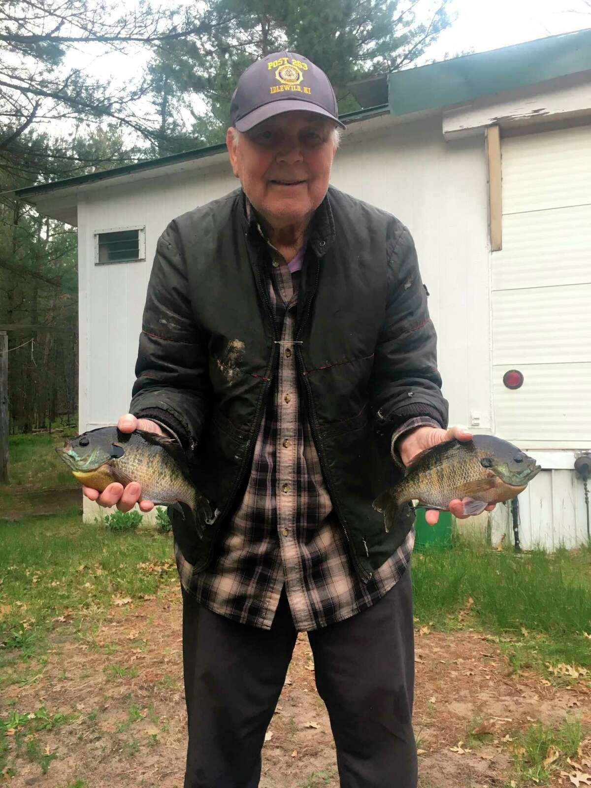 Baldwin's Jim Warren is anxious to get out and catch more bluegills. (Star file photo)