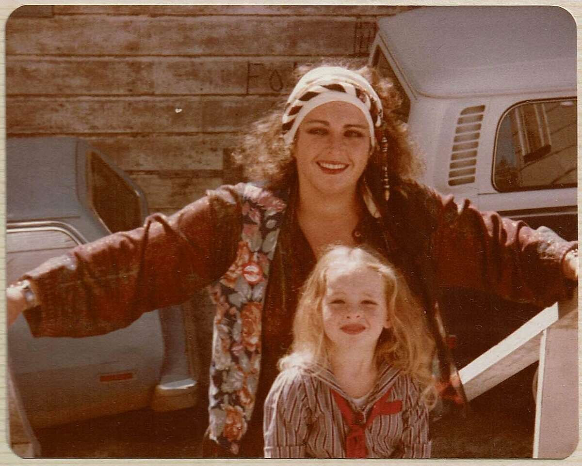 Alia Volz as a child with her mother, Meridy Volz, co-owner of Sticky Fingers Brownies.