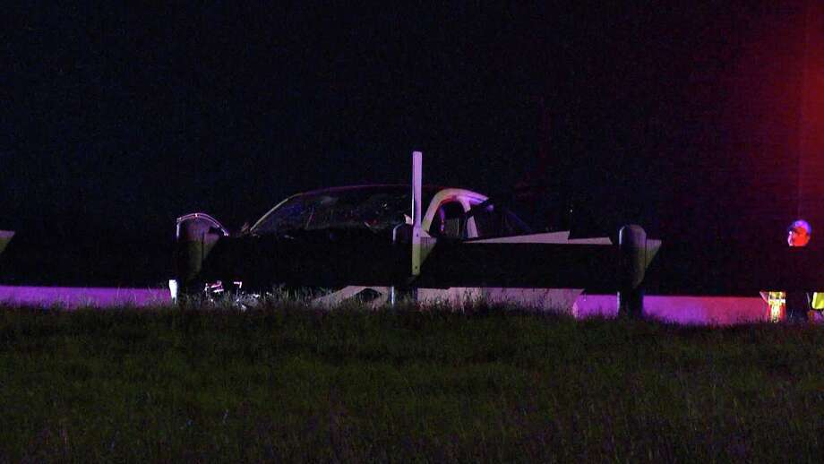 One man is dead after a head-on crash with a suspected drunken driver on the South Side on Wednesday. Photo: Ken Branca