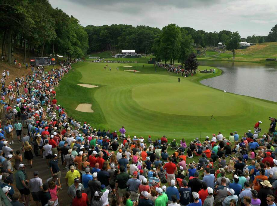 CROMWELL, CT - JUNE 24: A course scenic view of the 15th hole during the final round of the Travelers Championship at TPC River Highlands on June 24, 2018 in Cromwell, Connecticut. (Photo by Stan Badz/PGA TOUR) Photo: Stan Badz / US PGA TOUR / 2018 Stan Badz/PGA TOUR 2018 Stan Badz/PGA TOUR