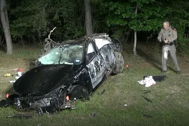 One person was killed and another injured in a single-vehicle accident late Wednesday night just off FM 1488 near Magnolia.