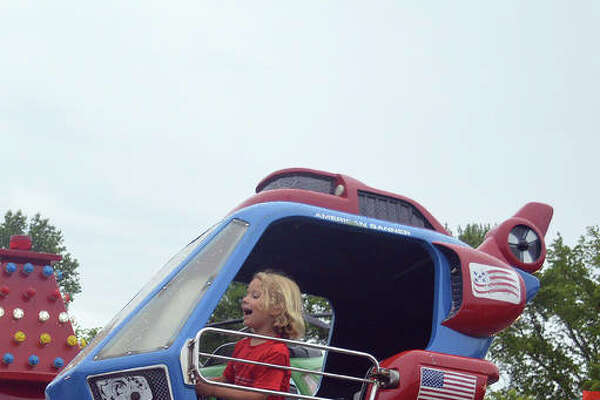 Some light rain wasn't enough to stop the fun at the 14th annual Glen Carbon Homecoming last year.