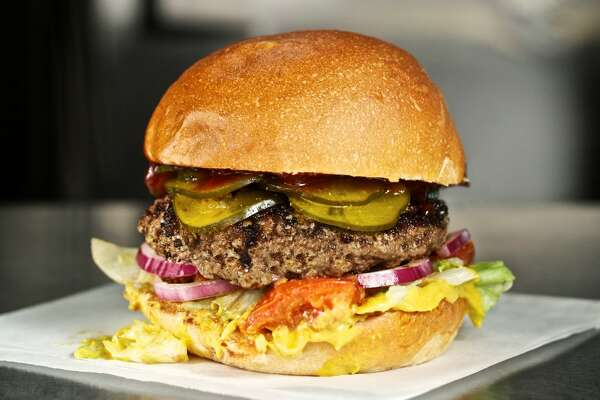 Bernie's Burger Bus5407 Bellaire Blvd, Bellaire; 713-349-9400 Bernie's Burger Bus / Backyard Burger Kits Starting this week, you can order build-your-own burger kits from Bernie's to grill your own primo burgers at home. The $25 kits include four 44 Farms house-ground beef patties, buns, cheese slices, housemade pickles, ketchup, mayo and mustard. Upgrade your burger bash with a pint of beloved tipsy onions or garlic tomatoes from Bernie's Bodega and go wild with your own creations.