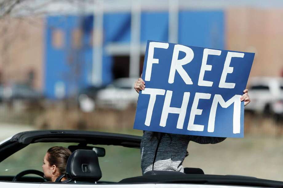 Free immigrants or keep them in detention amid the pandemic? Some of the arguments miss the point Photo: David Zalubowski / Associated Press / Copyright 2020 The Associated Press. All rights reserved.