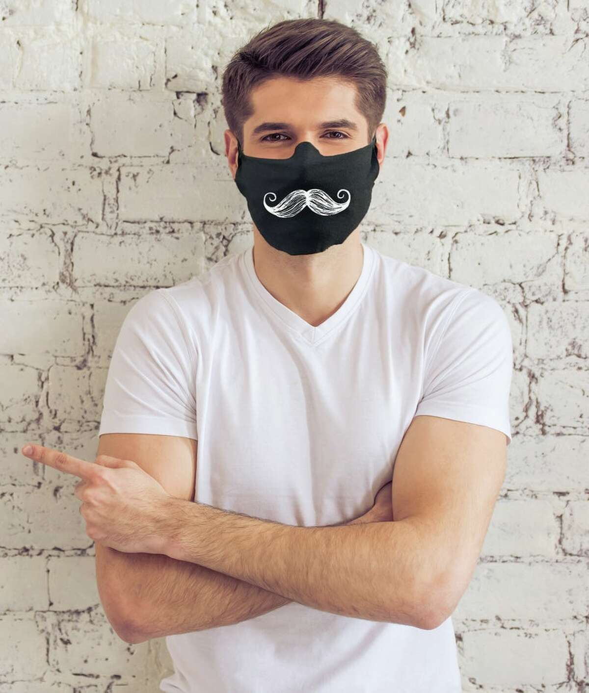 Have you been growing out your quarantine-facial hair but are now worried that you have to cover it up with a mask when you go out? Well the ModParty shop has the solution with mustache masks for the men. Price: starting at $13 THE GOOD NEWSLETTER: A weekly dose of inspiring San Antonio stories, delivered to your inbox