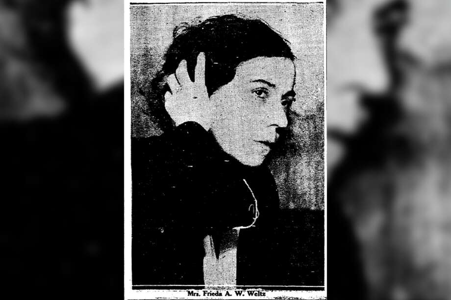 "The so-called ""Panther Nurse,"" Frieda Weltz. Photo: San Francisco Chronicle Archives"