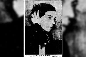 "The so-called ""Panther Nurse,"" Frieda Weltz."