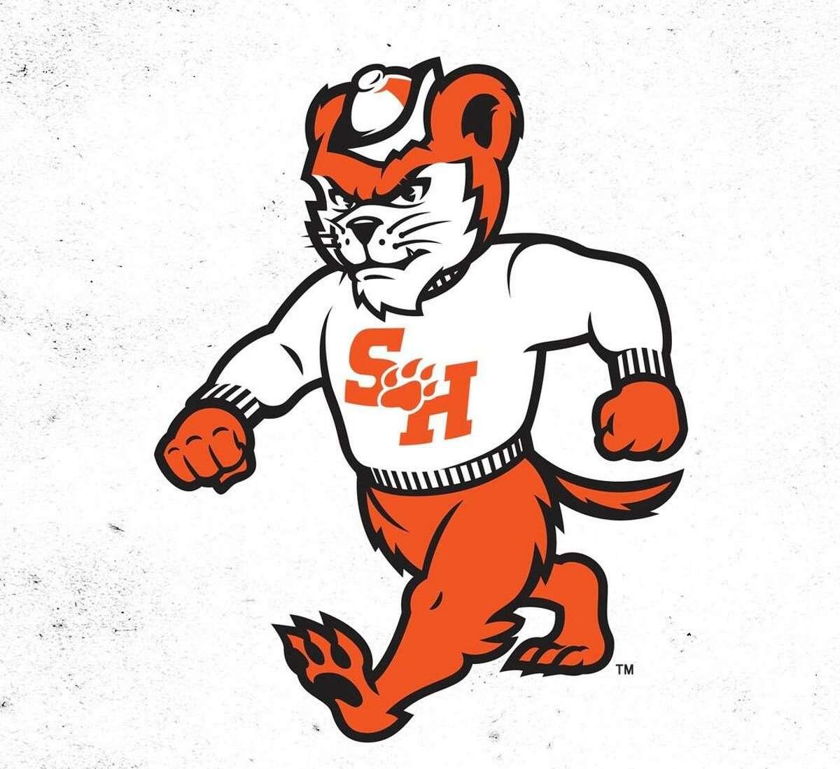 The new Sam Houston State University mascot logo released on Thursday, April 17, 2020.