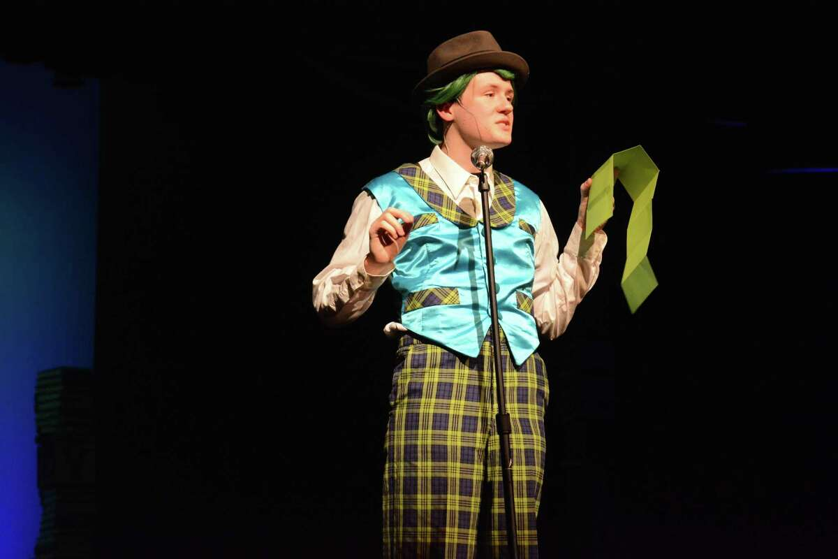Thomas Massey, who played Mr. Wormwood.in Friendswood High School's production of