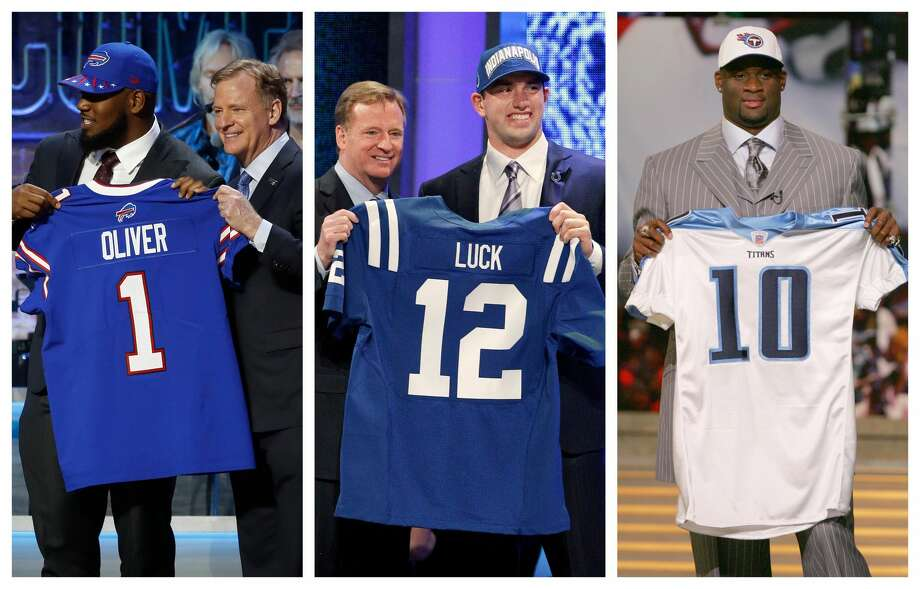 PHOTOS: A look at every first-round pick in the NFL Draft from a Houston-area high school