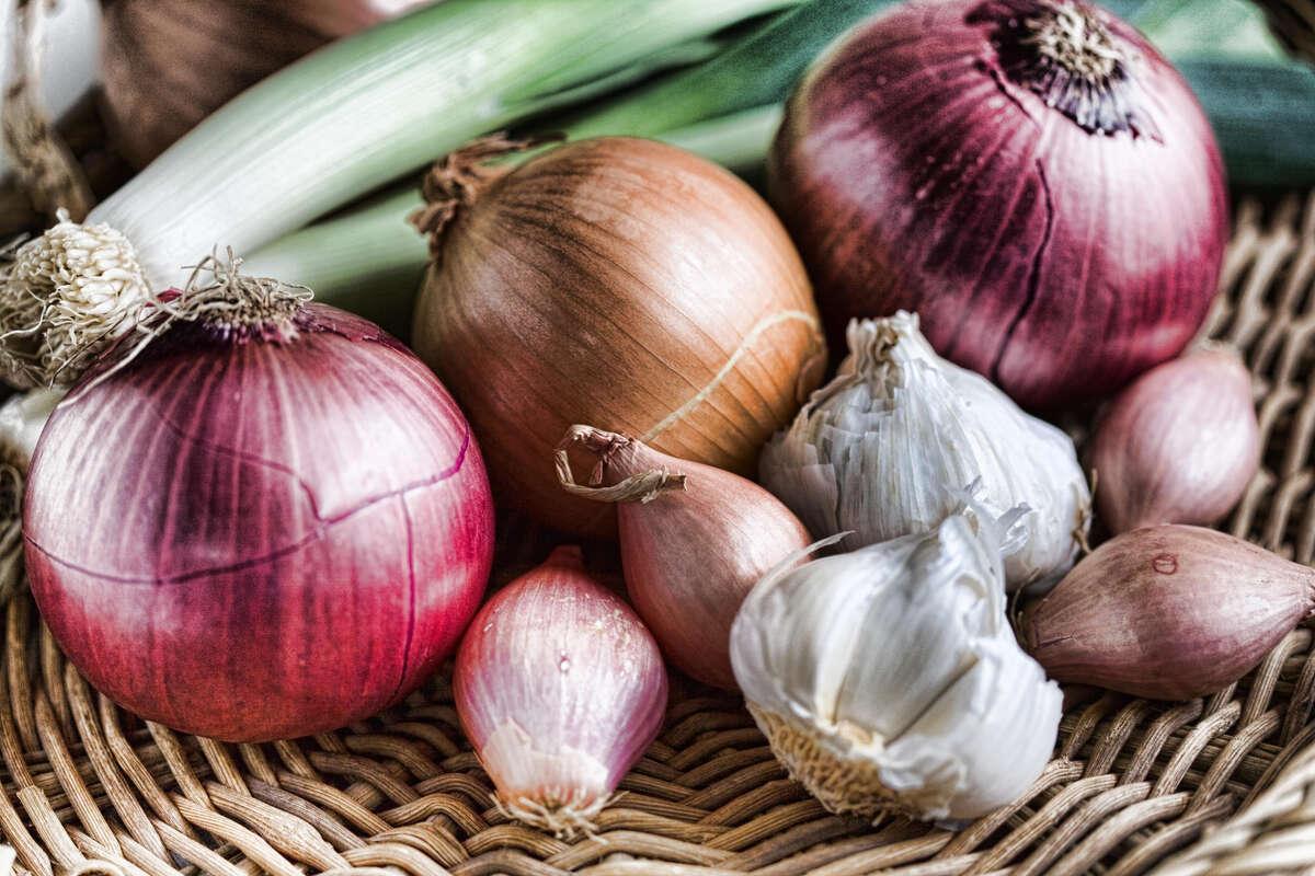 Frozen garlic: