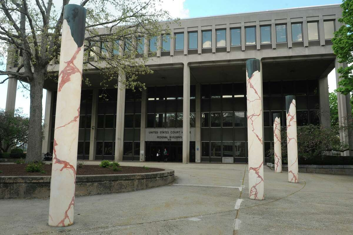 The Federal Courthouse in Bridgeport.