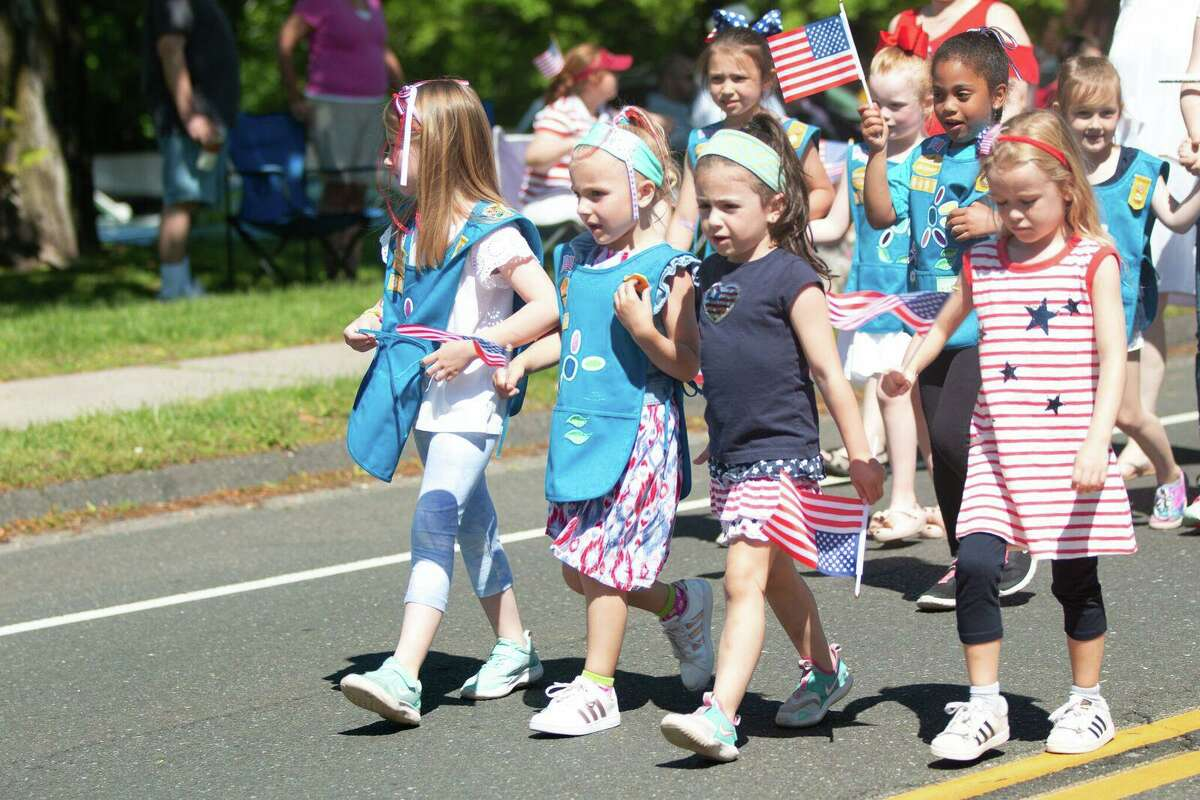 Images from Trumbull's 2019 Memorial Day Parade.