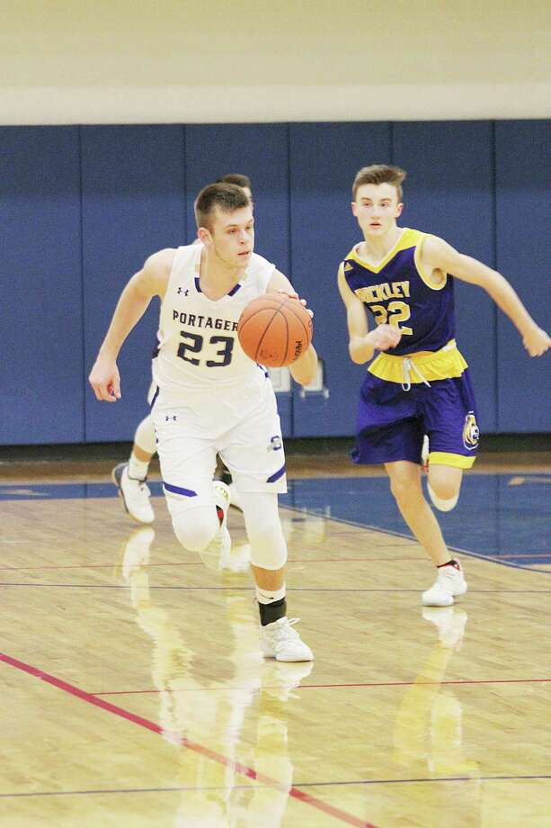 Onekama senior Taylor Bennett received theOutstanding Senior Student-Athlete award, presented by the Basketball Coaches Association of Michigan. (News Advocate file photo)