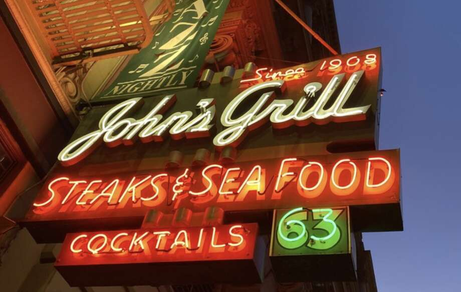 A lawsuit was filed Wednesday against The Hartford insurance company by the owner of San Francisco's historic John's Grill after the restaurant could not collect on a claim for business interruption losses due to the coronavirus, attorneys for the restaurant said. Photo: Craig H./Yelp