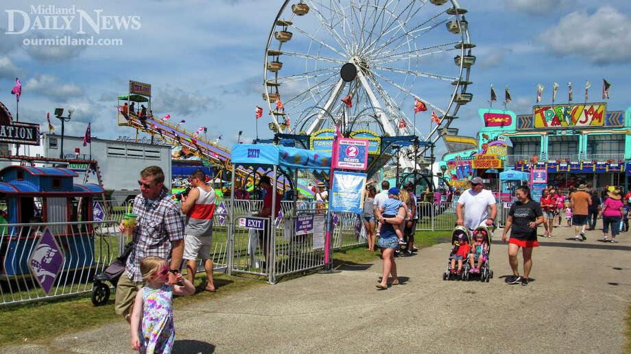 The Midland County Fair. Photo: (Daily News File)