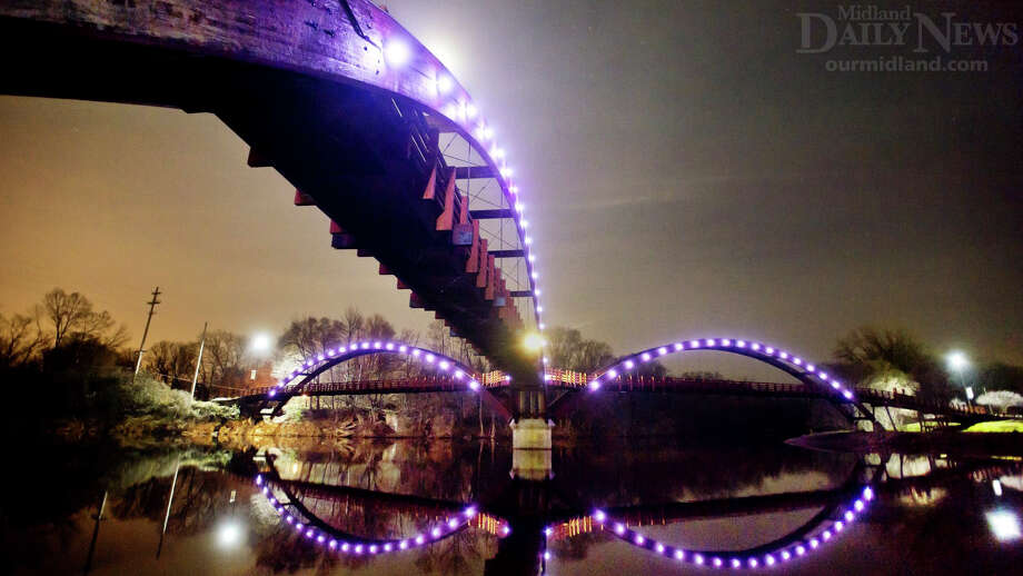 The Tridge at nighttime. Photo: (Daily News File)