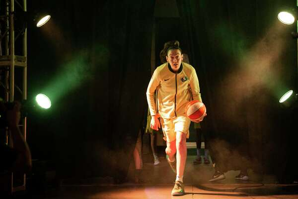 Breanna Stewart of the Seattle Storm runs out of the tunnel before Game 2 of the WNBA Finals against the Washington Mystics at KeyArena on Sept. 9, 2018 in Seattle. Stewart will be returning to the league this season after missing the last 22 months due to injuries.