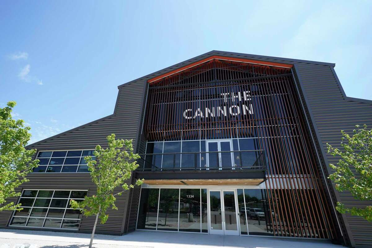 The Cannon, 1334 Brittmoore Rd., a startup accelerator, is shown Thursday, April 16, 2020, in Houston. Accelerators are shut down with the stay-at-home order amid the COVID-19 pandemic.