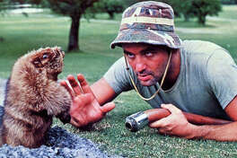 """Bill Murray's character confronts the gopher in """"Caddyshack."""" (Warner Bros. Pictures/TNS)"""