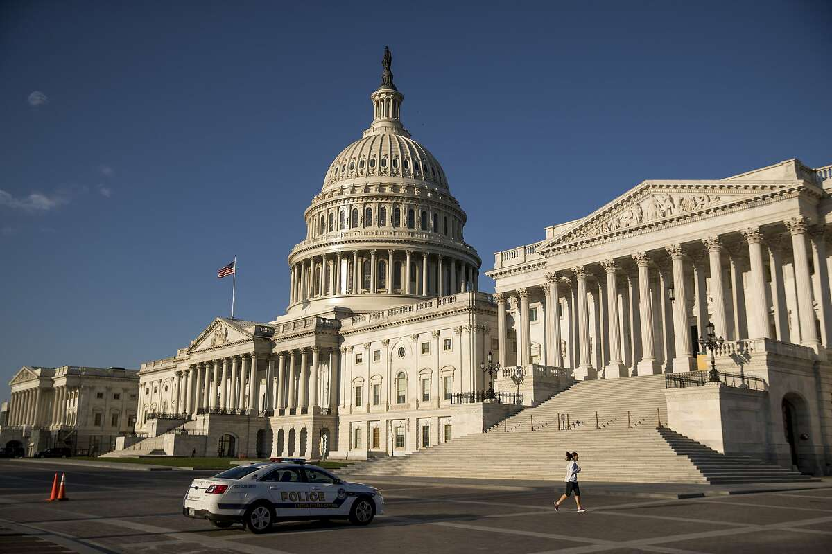 Republicans at the Capitol in Washington, D.C., blocked aid to states in the stimulus package, dashing hopes that California would be able to narrow its budget gap.