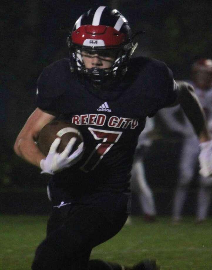 Noah Jones is now focusing on his senior football season this fall. (Pioneer file photo)