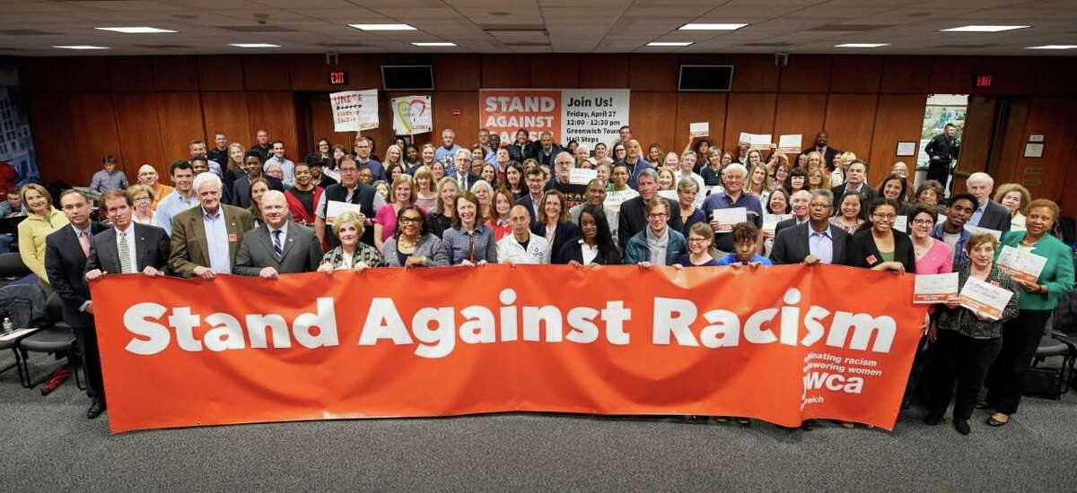 YWCA Greenwich will holds 11th Annual Stand Against Racism will take place from noon to 12:30 p.m. Friday at Greenwich Town Hall. All members of the community are invited to participate.