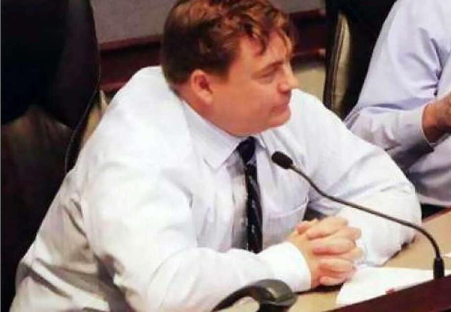 Madison County Administrator Doug Hulme at a previous meeting.