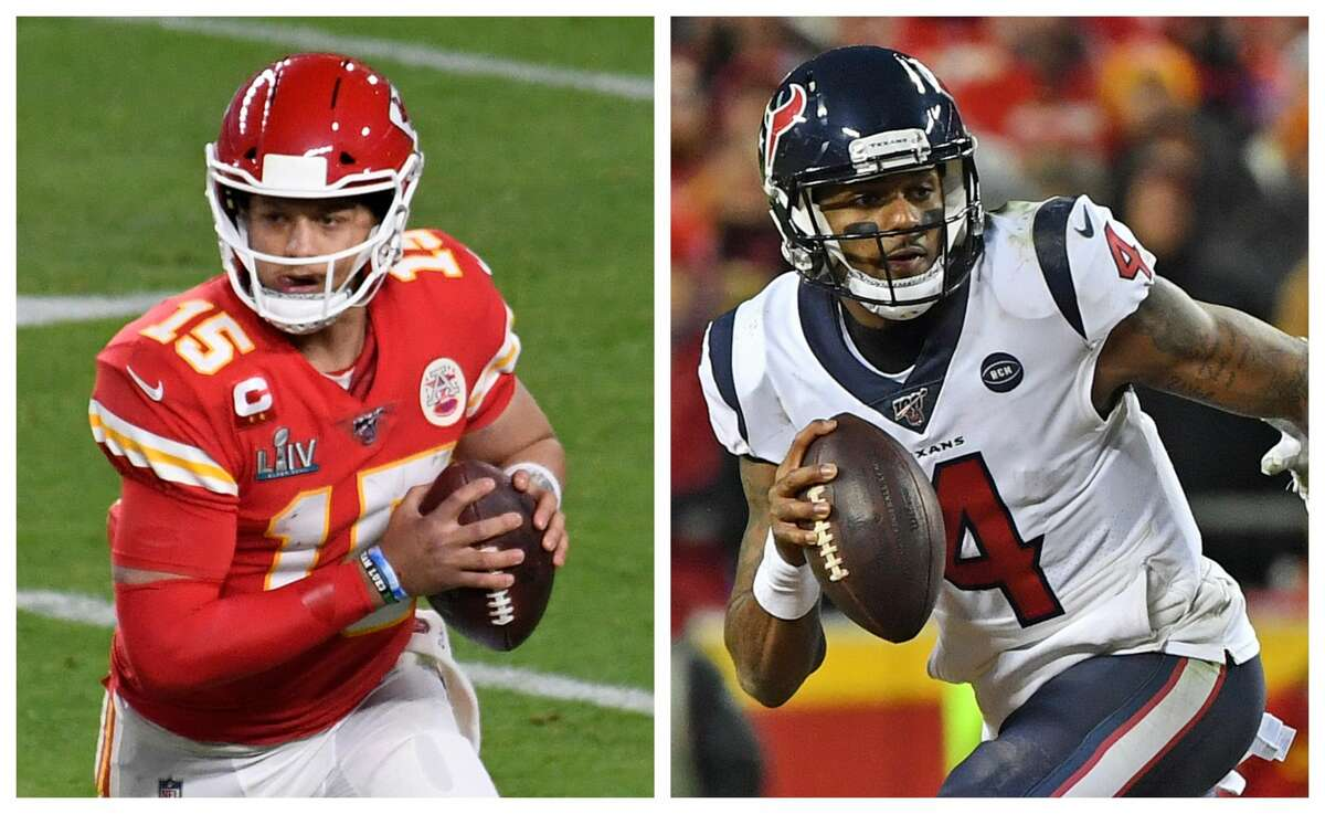 TEXAS VS. GEORGIAQuarterbackPatrick Mahomes (Whitehouse High School) vs. Deshaun Watson (Gainesville High School)Both men are 24 - Mahomes is just three days younger - and amazingly talented, but Mahomes is the best quarterback in the league.Edge: Texas