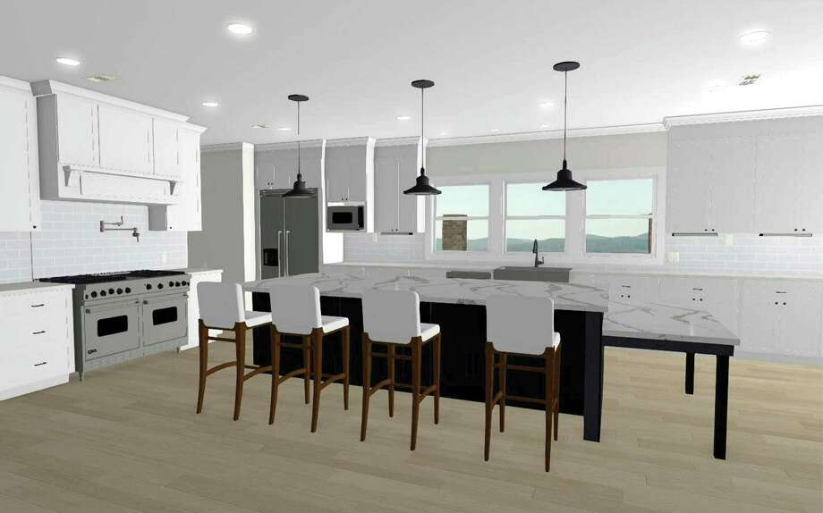This 3D rendering lets homeowners clearly see project details before construction.