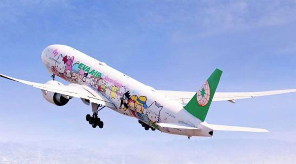 Saddest news of the week for some: Taiwan's EVA has temporarily grounded its Hello Kitty themed aircraft.