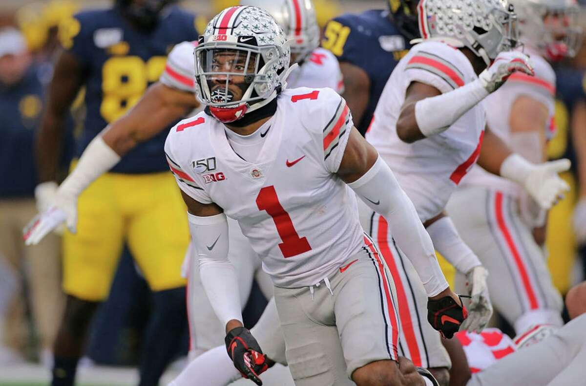 Ohio State cornerback Jeff Okudah is expected to be a top-three selection in this year's NFL draft and may be the safest pick after his teammate Chase Young.