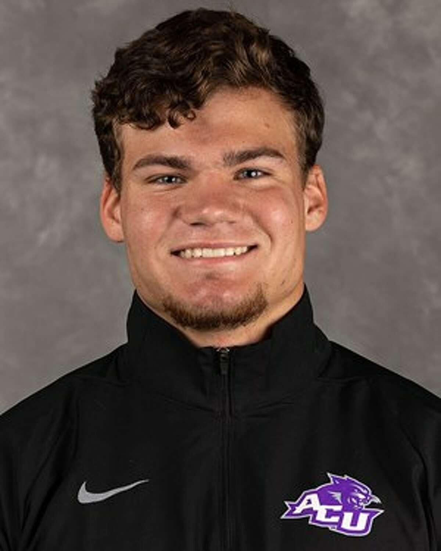 Andrews grad and Abilene Christian freshman track & field athlete Jacob Mechler. Abilene Christian University athletics