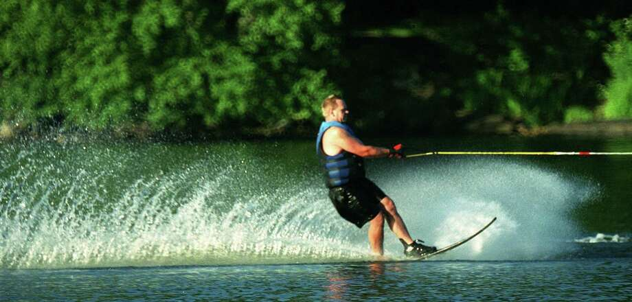 SPECTRUM/Water skiing on Lake Waramaug for Day Trips photo page, July 2003 Photo: File Photo / File Photo / The News-Times File Photo