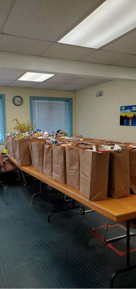 W.H.E.A.T. is prepared for grocery pickup, as the need for food has doubled in recent weeks. Photo: Contributed Photo