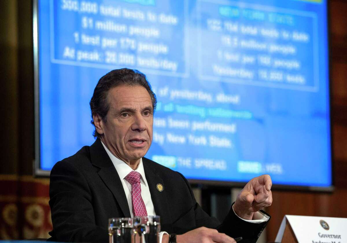 Gov. Andrew Cuomo of New York