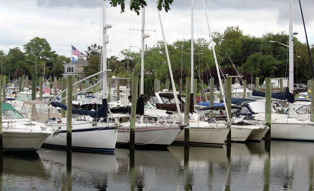 New York Mayor Andrew Cuomo said Friday that Connecticut officials have complained to him that since New York's marinas are closed, many New Yorkers are moving their watercraft to Connecticut. This is a file photo of the municipal marina in Fairfield.