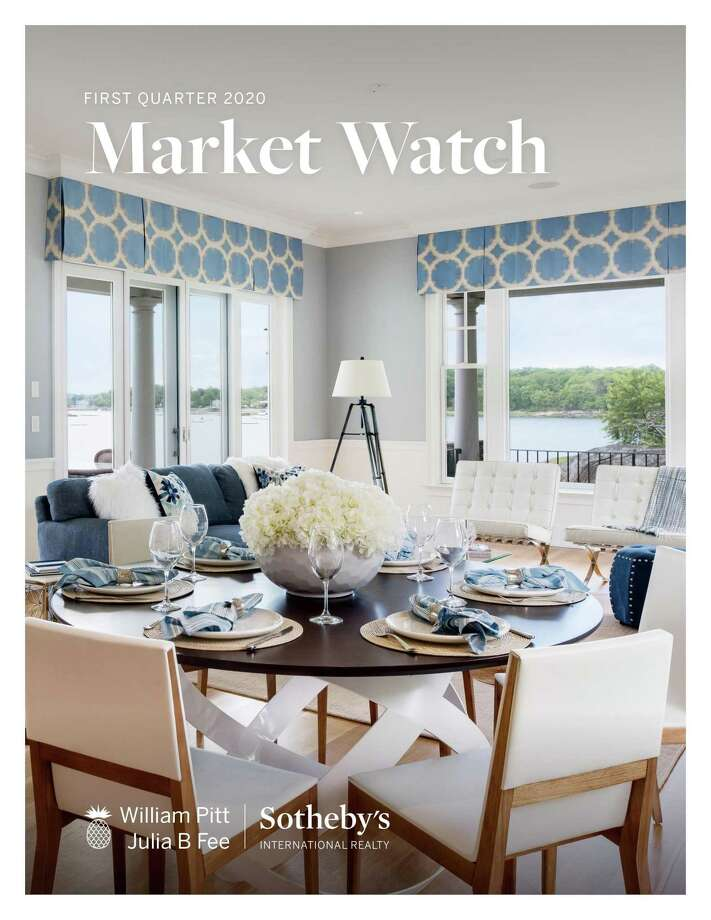 A report detailing market results for the first quarter of 2020 in Fairfield and Litchfield Counties, the Shoreline and the Farmington Valley in Connecticut, the Berkshires in Massachusetts, and Westchester County, New York, has just been released by William Pitt-Julia B. Fee Sotheby's International Realty. Photo: William Pitt / Contributed Photo