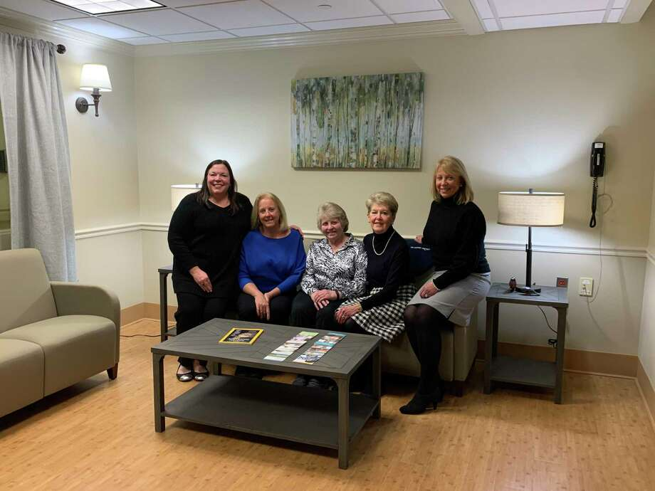 Members of The Sisters' Project gather in the newly-refurbished family lounge at Masonicare Health Center, funded by their generous gift to Masonicare in fall 2019. Photo: Masonicare / Contributed Photo
