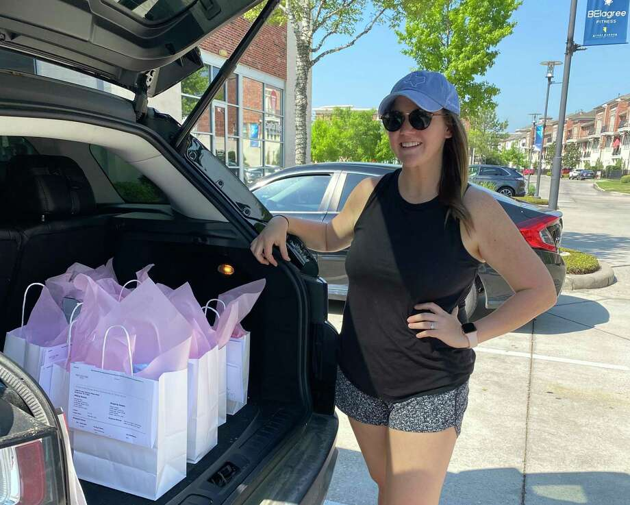 Pretty Little Things boutique is continuing to fulfill orders and hand-delivering them from Kingwood to Fall Creek during the new coronavirus protective measures. Photo: Courtesy Of Nikole Christian / Courtesy Of Nikole Christian