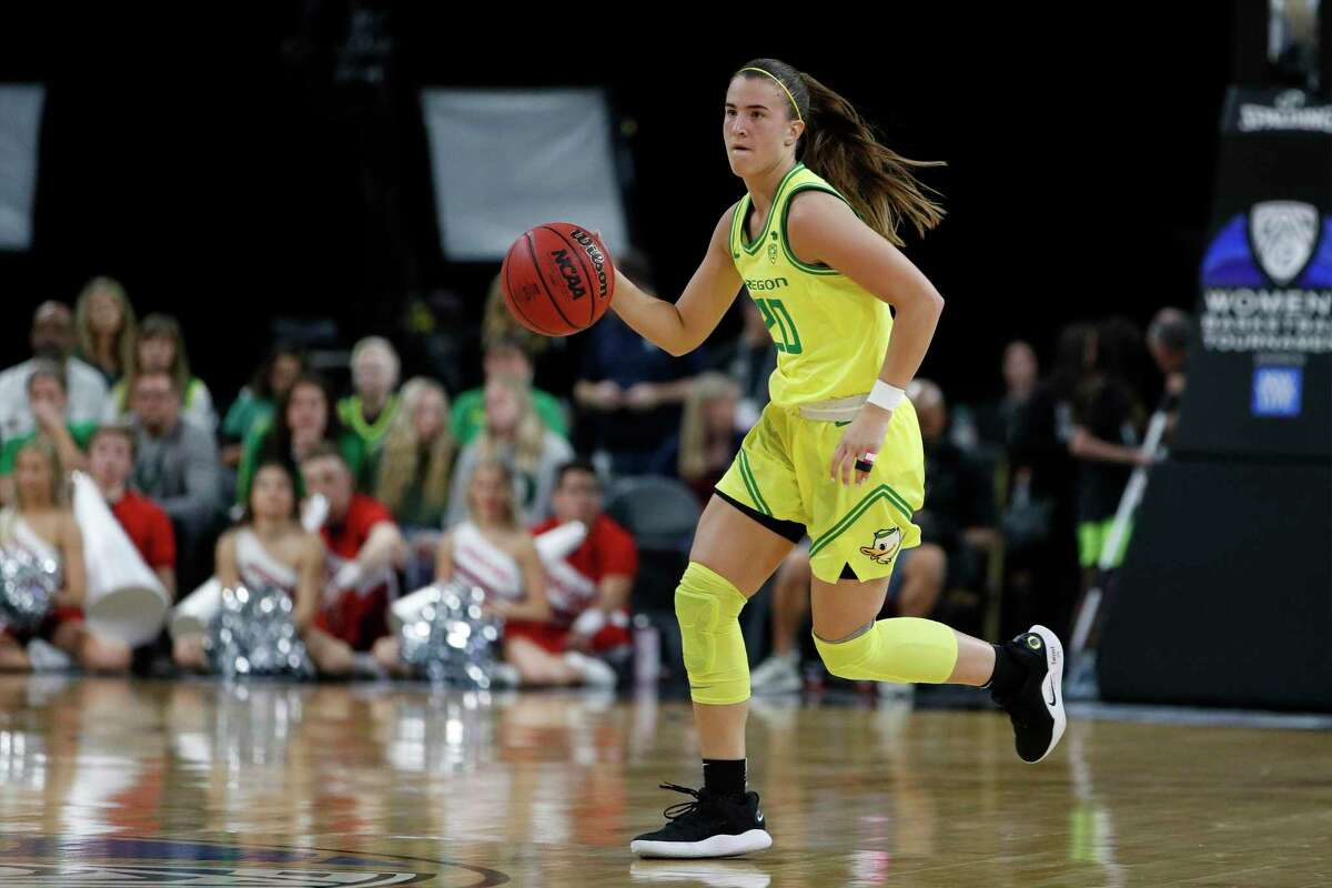 Oregon's Sabrina Ionescu was chosen No. 1 overall by the New York Liberty in Friday's WNBA draft.