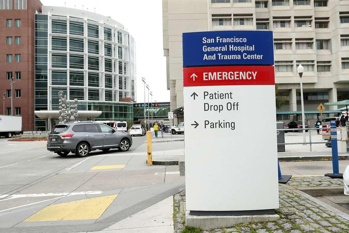 San Francisco General Hospital in San Francisco, Calif., on Thursday, January 23, 2020.