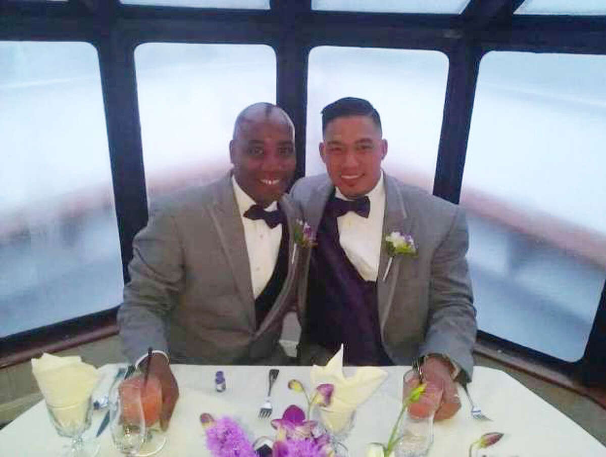Live Oak residents Phillip Tsai-Brooks, left and his partner Anthony Brooks succumbed to coronavirus complications this week. Tsai-Brooks passed away on Sunday while Brooks, a Live Oak city councilman, died Tuesday.