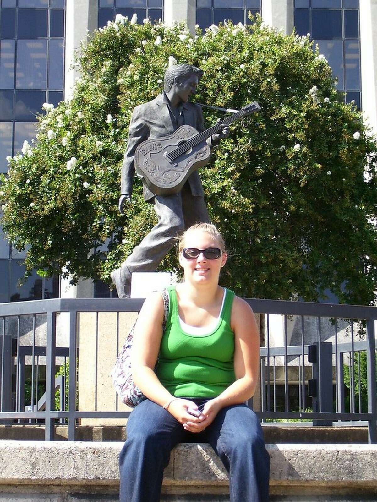 1. In 2007, I won a radio contest and got a free trip to see Justin Timberlake in Memphis (his hometown) and stay at the Peabody all for knowing Central Park was in Schenectady (my hometown) which also started my obsession with Elvis Presley.