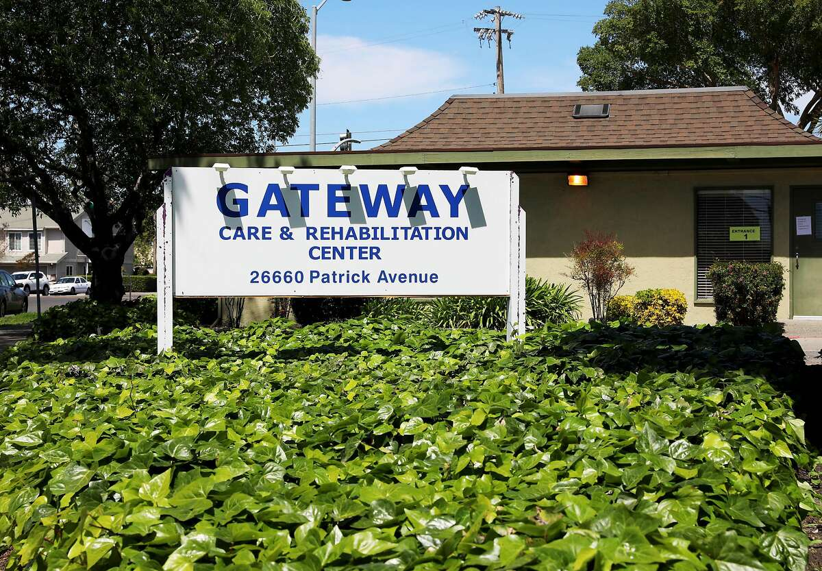 Gateway Care and Rehabilitation Center is located at 26660 Patrick Ave. on Wednesday, April 15, 2020, in Hayward, Calif. The facility currently has eleven COVID-19 related deaths with dozens of staff members and patients infected with the novel coronavirus.