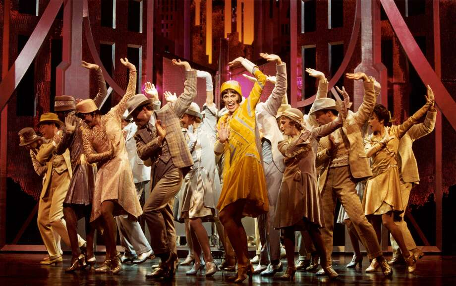 "Connecticut's Marissa Follo Perry, who appeared on Broadway in ""Hairspray"" and ""Sister Act,"" says one of her favorite Broadway productions is ""Thoroughly Modern Millie,"" seen here, starring Sutton Foster of TV's ""Younger."" Photo: Associated Press / Contributed Photo"