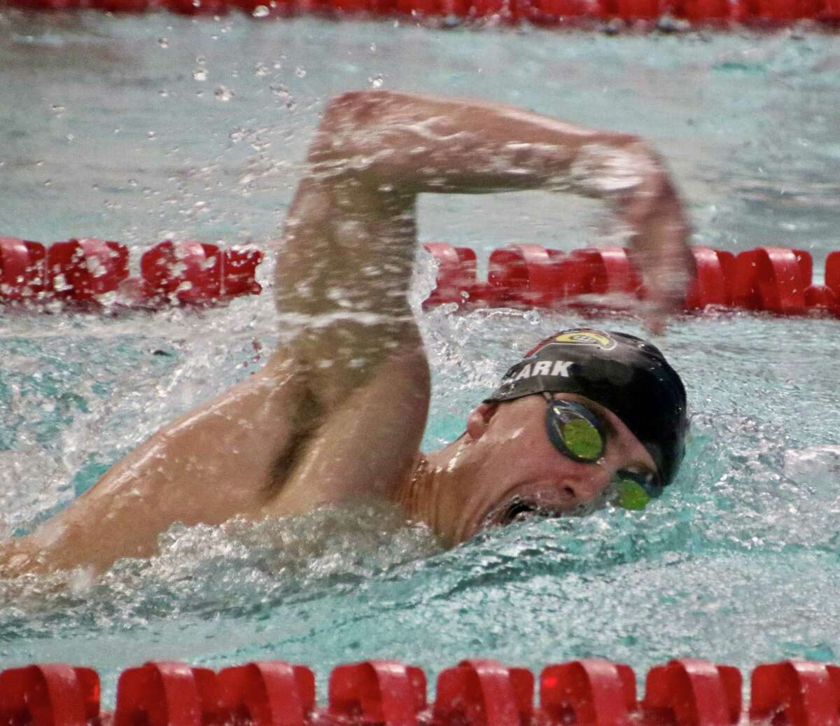 Greenwich senior Charlie Clark helped lead the Greenwich boys swimming team to an undefeated dual meet season and to the FCIAC championship with a standout season.