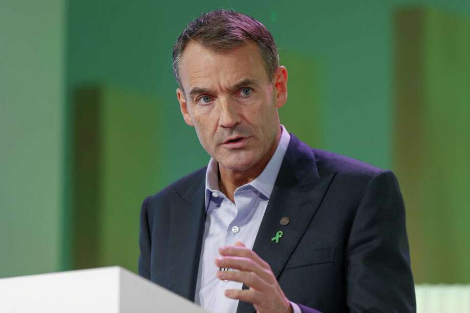 Bernard Looney, chief executive officer of BP.BP plans to supply Microsoft with renewable energy in a move that ramps up both companies' commitment to fight climate change. Photo: Hollie Adams / Bloomberg / © 2020 Bloomberg Finance LP